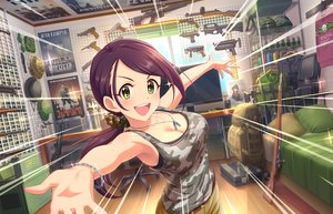 Rating: Safe Score: 73 Tags: armor bed breasts brown_hair chain computer green_eyes gun hat idolmaster idolmaster_cinderella_girls idolmaster_cinderella_girls_starlight_stage knife landscape long_hair military necklace ponytail purple_hair scenic shorts tagme_(artist) weapon wristwear yamato_aki User: RyuZU