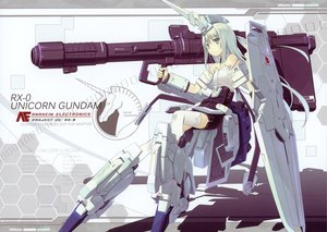 Rating: Safe Score: 130 Tags: green_eyes mechagirl mobile_suit_gundam poco thighhighs weapon white_hair User: Wiresetc