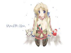 Rating: Safe Score: 8 Tags: christmas santa_claus santa_costume snow tagme white winter User: Oyashiro-sama