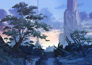 Rating: Safe Score: 26 Tags: building city k_kanehira original polychromatic scenic tree watermark User: FormX