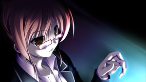 Rating: Safe Score: 48 Tags: brown_eyes game_cg glasses makita_maki shinigami_no_testament User: Nnyuu