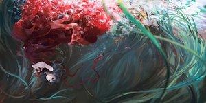Rating: Safe Score: 221 Tags: bubbles doll dress jq kagiyama_hina scenic touhou underwater water User: FormX