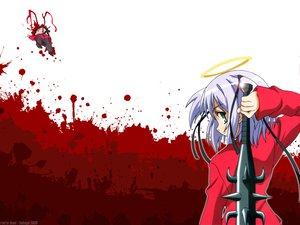 Rating: Safe Score: 29 Tags: blood bokusatsu_tenshi_dokuro-chan dokuro jpeg_artifacts User: Oyashiro-sama