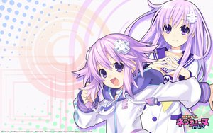 Rating: Safe Score: 62 Tags: blue_eyes hyperdimension_neptunia_mk2 jpeg_artifacts long_hair nepgear neptune purple_hair short_hair tsunako User: meccrain