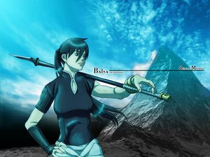 Rating: Safe Score: 4 Tags: balsa seirei_no_moribito spear weapon User: Kulag