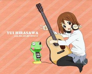 Rating: Safe Score: 34 Tags: guitar headphones hirasawa_yui instrument k-on! pantyhose saitoyu00 User: HawthorneKitty