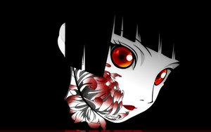Rating: Safe Score: 101 Tags: enma_ai jigoku_shoujo tattoo User: Doc97