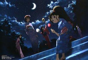 Rating: Safe Score: 53 Tags: adachi_shingo inami_mahiru japanese_clothes kimono matsumoto_maya megami moon night scan takanashi_nazuna taneshima_popura working!! yamada_aoi User: gnarf1975