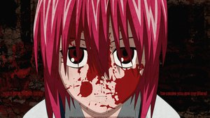 Rating: Safe Score: 42 Tags: blood close elfen_lied lucy_(elfen_lied) signed vector watermark User: 秀悟