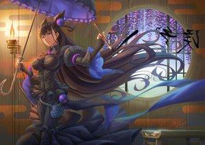 Rating: Safe Score: 53 Tags: black_hair fate/grand_order fate_(series) fire goth-loli ho-oh_(artist) lolita_fashion long_hair murasaki_shikibu tagme umbrella User: C4R10Z123GT