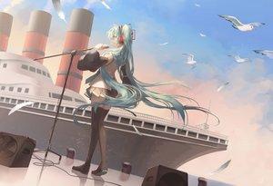 Rating: Safe Score: 46 Tags: animal bird boat hatsune_miku microphone saihate vocaloid User: FormX