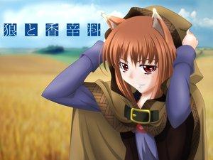 Rating: Safe Score: 57 Tags: animal_ears horo ookami_to_koushinryou wolfgirl User: gameaddict1