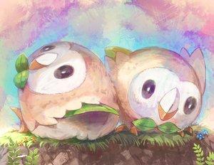 Rating: Safe Score: 41 Tags: animal bird nagakura_(seven_walkers) pokemon rowlet tagme User: RyuZU