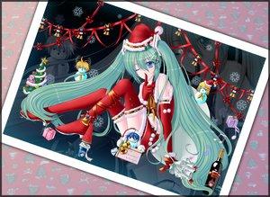 Rating: Safe Score: 29 Tags: chibi christmas hatsune_miku kagamine_len kagamine_rin kaito male meiko snow snowman takoluka twintails vocaloid User: HawthorneKitty