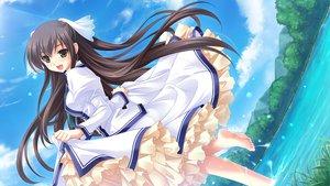 Rating: Safe Score: 88 Tags: barefoot cabbit dress game_cg long_hair michiru_(midori_no_umi) midori_no_umi saeki_hokuto water User: Wiresetc
