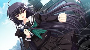 Rating: Safe Score: 21 Tags: black_hair game_cg hananomiya_ako long_hair nishimata_aoi purple_eyes seifuku sekai_seifuku_kanojo User: oranganeh