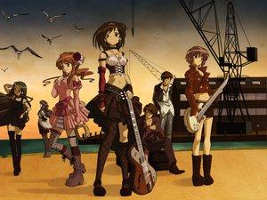 Rating: Safe Score: 76 Tags: asahina_mikuru asakura_ryouko group guitar instrument koizumi_itsuki kyon male nagato_yuki suzumiya_haruhi suzumiya_haruhi_no_yuutsu tsuruya User: Oyashiro-sama