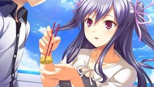 Rating: Safe Score: 34 Tags: game_cg izuna_zanshinken tagme_(character) User: Maboroshi