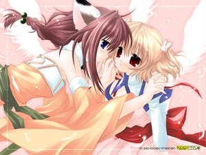 Rating: Safe Score: 20 Tags: angel_rabbie animal_ears catgirl sakurazawa_izumi wings User: Oyashiro-sama