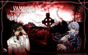 Rating: Safe Score: 9 Tags: all_male gun kiryu_zero kuran_kaname male tagme vampire_knight weapon User: Xtea