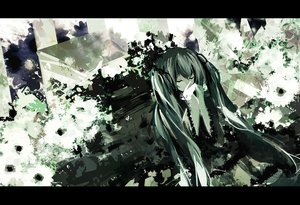 Rating: Safe Score: 15 Tags: hatsune_miku long_hair twintails vocaloid User: luckyluna