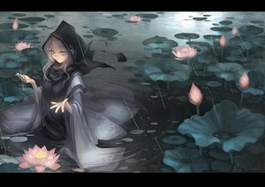 Rating: Safe Score: 131 Tags: flowers kumoi_ichirin monono rain touhou water wet User: opai