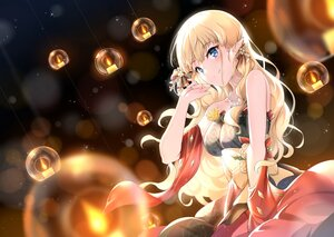 Rating: Safe Score: 78 Tags: blonde_hair blue_eyes dress long_hair pointed_ears princess_connect! sasaki_saren xin_(zinc) User: BattlequeenYume