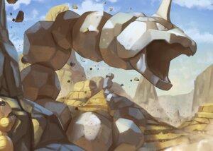 Rating: Safe Score: 26 Tags: clouds desert nobody onix pokemon sandshrew sky spareribs User: otaku_emmy