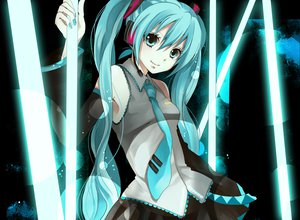 Rating: Safe Score: 86 Tags: hatsune_miku vocaloid User: HawthorneKitty