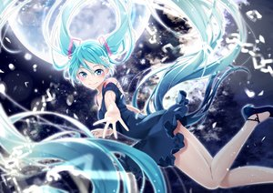 Rating: Safe Score: 25 Tags: agonasubi hatsune_miku long_hair twintails vocaloid User: sadodere-chan