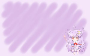 Rating: Safe Score: 22 Tags: animal_ears chibi hat neko_yume patchouli_knowledge tail touhou User: SciFi
