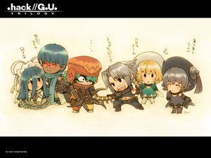 Rating: Safe Score: 28 Tags: .hack// .hack//g.u. aina_(character) atoli biwa chibi haseo kite_of_the_azure_flame ovan shino tri-edge User: 秀悟