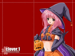 Rating: Safe Score: 12 Tags: halloween nishimata_aoi pumpkin red witch User: Oyashiro-sama