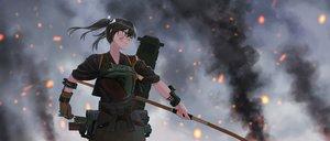 Rating: Safe Score: 20 Tags: anthropomorphism bow_(weapon) kantai_collection weapon yue_(tada_no_saboten) zuikaku_(kancolle) User: FormX