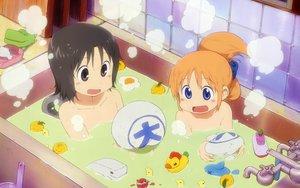 Rating: Safe Score: 65 Tags: hakase_(nichijou) nichijou shinonome_nano User: Mazinger