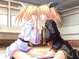 Rating: Explicit Score: 149 Tags: blonde_hair blush game_cg magus_tale nina_geminis rena_geminis short_hair tenmaso tie twins twintails whirlpool User: Oyashiro-sama