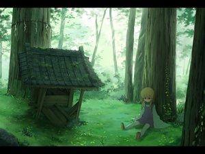 Rating: Safe Score: 68 Tags: forest grass moriya_suwako sasajqazwsx touhou tree User: FormX