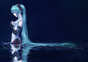 Rating: Safe Score: 234 Tags: hatsune_miku miku_append totuka twintails vocaloid User: mikulover