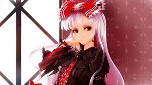 Rating: Safe Score: 91 Tags: aliasing fujiwara_no_mokou gothic sinzan touhou User: luckyluna
