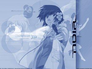 Rating: Safe Score: 3 Tags: gun noir short_hair weapon yuumura_kirika User: Oyashiro-sama