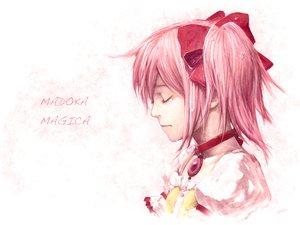 Rating: Safe Score: 21 Tags: dress kaname_madoka mahou_shoujo_madoka_magica pink_hair ribbons tears twintails User: HawthorneKitty