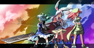 Rating: Safe Score: 34 Tags: advent_cirno cirno cosplay hong_meiling reisen_udongein_inaba touhou User: Tensa