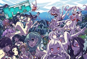 Rating: Safe Score: 90 Tags: aircraft_carrier_hime aircraft_carrier_oni aircraft_carrier_water_oni airfield_hime akashi_(kancolle) akigumo_(kancolle) akitsumaru_(kancolle) anchorage_oni aoba_(kancolle) aqua_eyes aqua_hair armored_aircraft_carrier_oni battleship-symbiotic_hime bikini black_hair breasts brown_hair cleavage glasses group horns isuzu_(kancolle) kaga_(kancolle) kantai_collection long_hair maru-yu_(kancolle) myoukou_(kancolle) northern_ocean_hime ooyodo_(kancolle) orange_hair pink_hair purple_hair red_eyes rensouhou-chan ribbons ru-class_battleship seaport_hime shimakaze_(kancolle) shiratsuyu_(kancolle) short_hair southern_ocean_oni suzuya_(kancolle) swimsuit taihou_(kancolle) tom_(drpow) twintails underwater uzuki_(kancolle) water white_hair yellow_eyes zuikaku_(kancolle) User: Flandre93