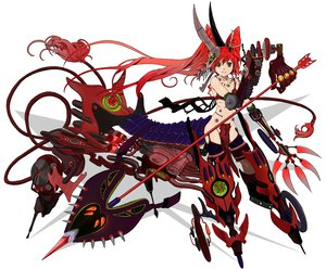 Rating: Questionable Score: 76 Tags: armor original red_hair twintails umishima_senbon weapon white User: w7382001