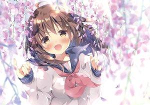 Rating: Safe Score: 103 Tags: close flowers kokoa-chan_(pan) original pan_(mimi) scan school_uniform User: luckyluna