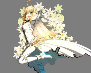 Rating: Safe Score: 128 Tags: blonde_hair fate/extra fate/extra_ccc fate/stay_night flowers green_eyes saber_bride saber_extra takeuchi_takashi transparent vector User: Wiresetc