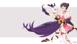 Rating: Safe Score: 30 Tags: 2girls d.va heroes_of_the_storm orphea_(heroes_of_the_storm) overwatch shoujo_ai star-kiss User: sadodere-chan