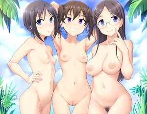 Rating: Explicit Score: 146 Tags: black_hair blue_eyes breasts brown_hair clouds cropped ghettoyouth glasses kuraue_hinata kurosaki_honoka navel nipples nude pubic_hair purple_eyes pussy saitou_kaede short_hair sky twintails uncensored yama_no_susume User: otaku_emmy