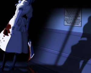 Rating: Safe Score: 92 Tags: blood higurashi_no_naku_koro_ni ryuuguu_rena User: 秀悟