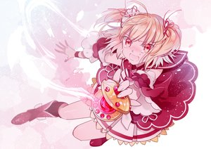 Rating: Safe Score: 23 Tags: ayano_rika ayumaru_(art_of_life) blonde_hair blush boots gloves magia_record:_mahou_shoujo_madoka_magica_gaiden short_hair tears twintails User: RyuZU